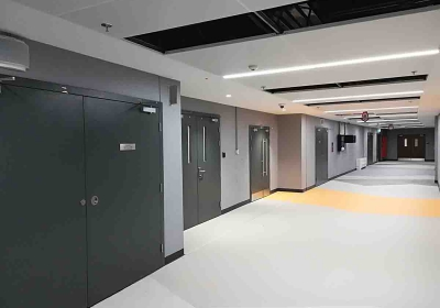 fire-rated automatic sliding doors