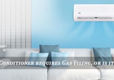 Does an Air conditioner requires gas filing, or is it just a hoax (1)