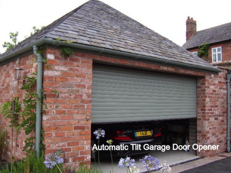 Automatic Tilt Garage Door Opener