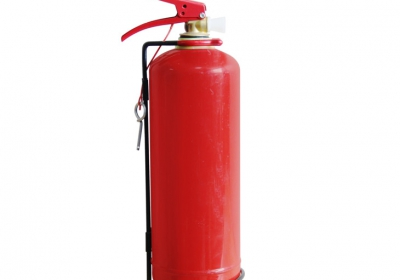 Portable fire extinguisher for vehicles