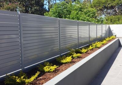 aluminium slat fencing sydney