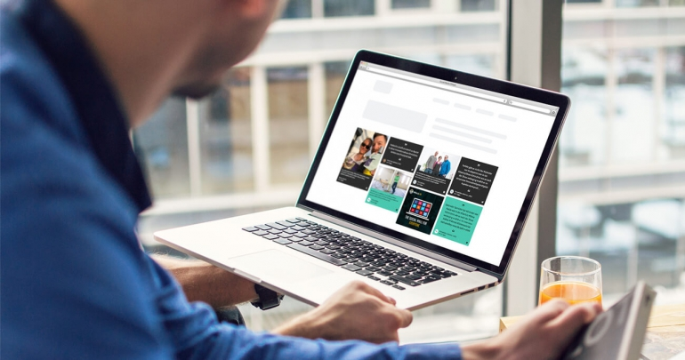 integrating social media to the website and channelizing the best content through a social media hub on website is a perfect solution to achieve your goals.