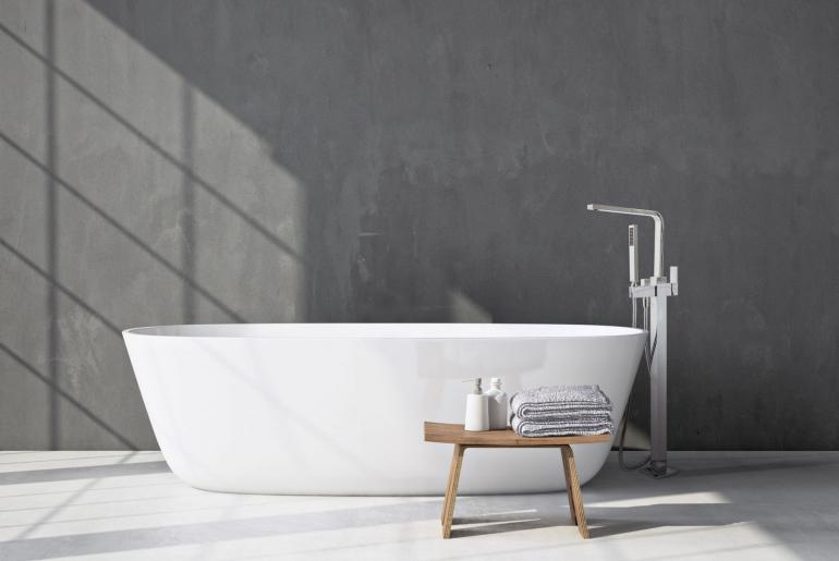 freestanding bath fillers