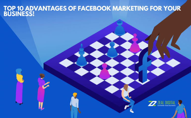 Facebook can align with both B2B and B2C easily. The strategies and plans are best to offer all kinds of businesses around the world.
