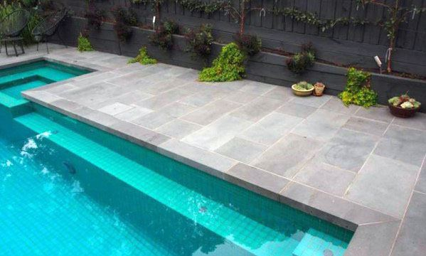 Granite pool tiles are a fantastic addition to the backyard of any swimming pool area of all sizes and shapes. If you are looking for pool coping pavers, t