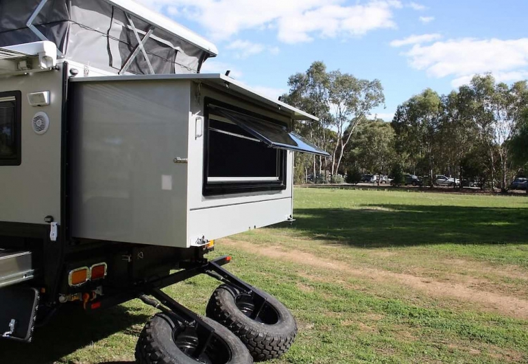 off road pop top caravans