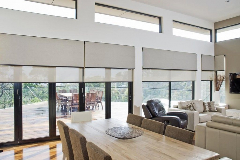 You can get stylistic blinds from the blinds in Balmain. You have vertical blinds and horizontal blinds for your needs. There could be other stylized blinds. You can choose blindly according to your design concepts.