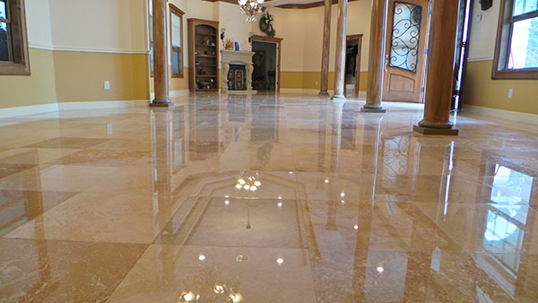 travertine polishing sydney