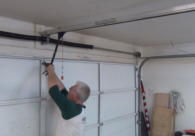 roller door motor installation