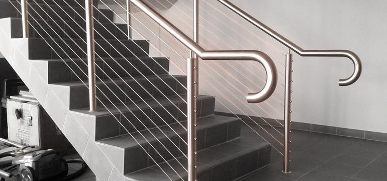 stainless steel handrails in Sydney
