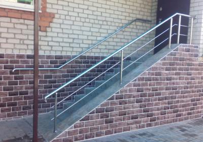 Stainless Steel Outdoor Handrails