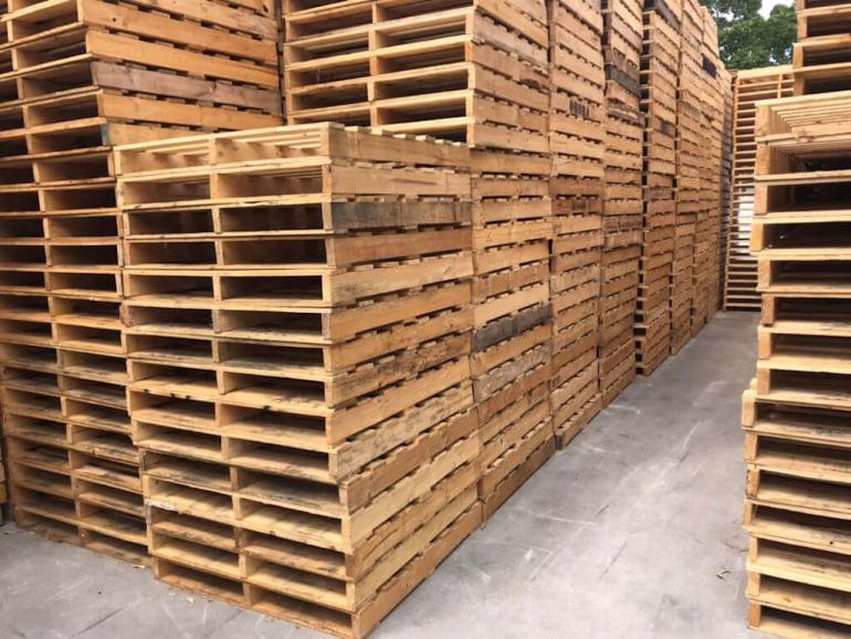 export pallets in Sydney
